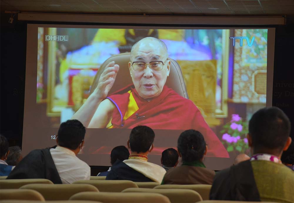 60th Democracy Day pays tribute to its pioneer, His Holiness the Dalai Lama of Tibet